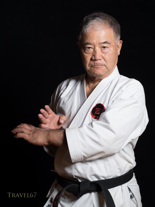 Morio Higaonna, 10th dan Okinawa Goju-ryu karate.