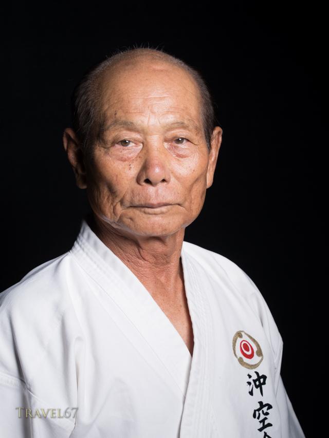 Tsutomo Nakahodo 10th dan Shohei-ryu (Uechi-ryu).