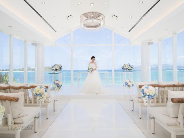 Marine bijou wedding chapel, Kise  Beach Palace resort, Okinawa