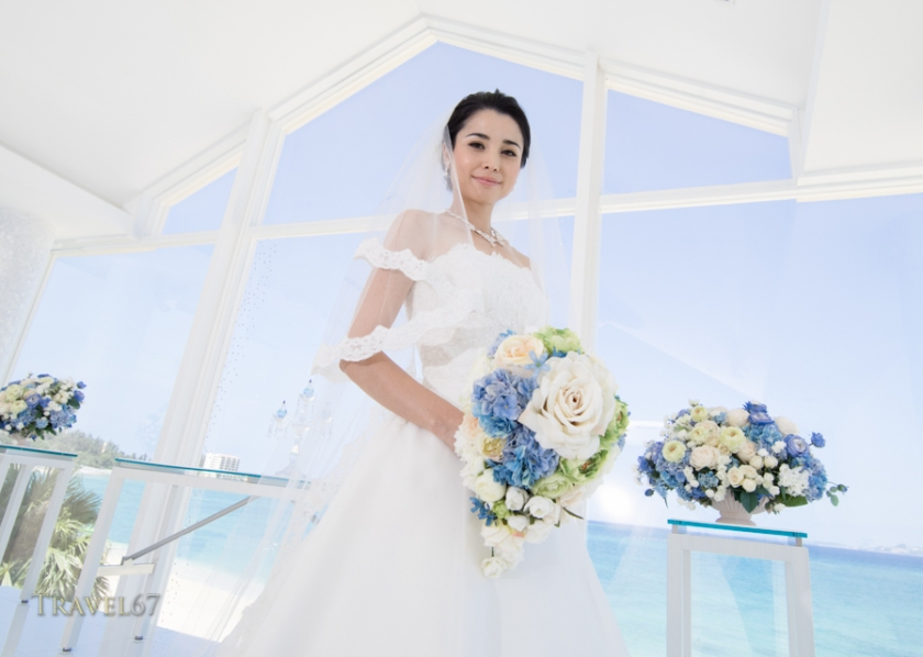 Marine bijou wedding chapel, Kise  Beach Palace resort, Okinawa