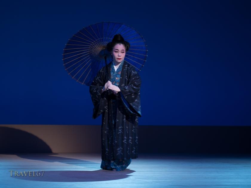 Ryukyu Dance - Kazue Higa at the National Theatre Okinawa.