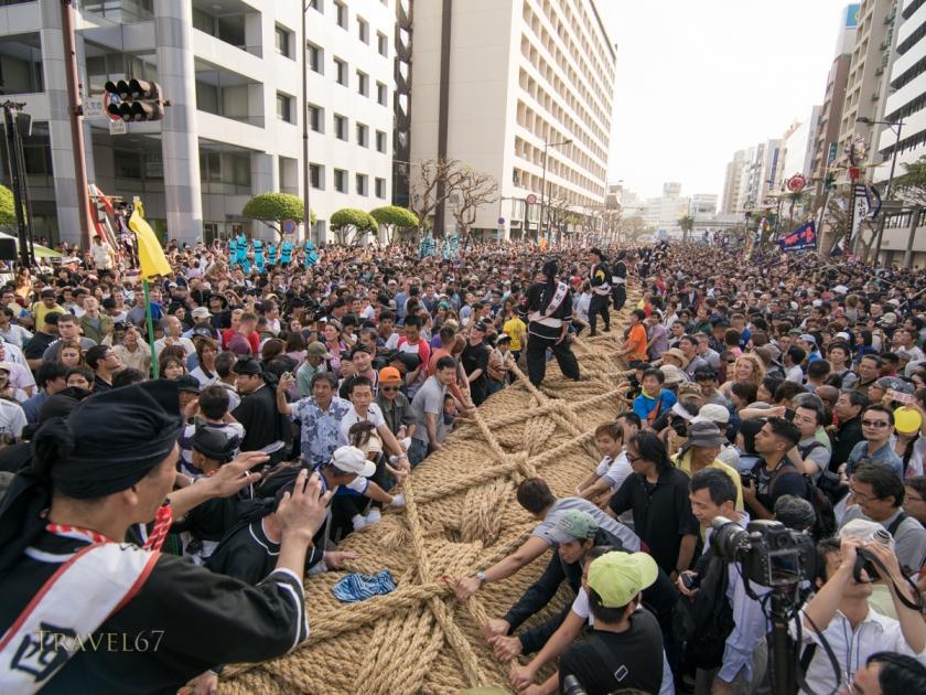 Word's Largest Tug of War, Okinawa, Japan