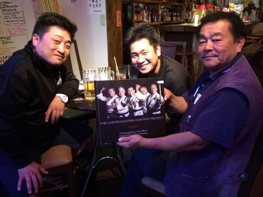 Satoshi Kinjo, Kenta Kinjo, Masakazu Kinjo