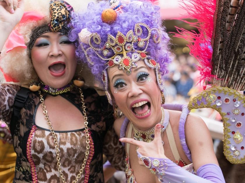33rd Asakusa Samba Festival in Tokyo