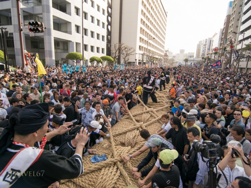 Naha's Tug of War
