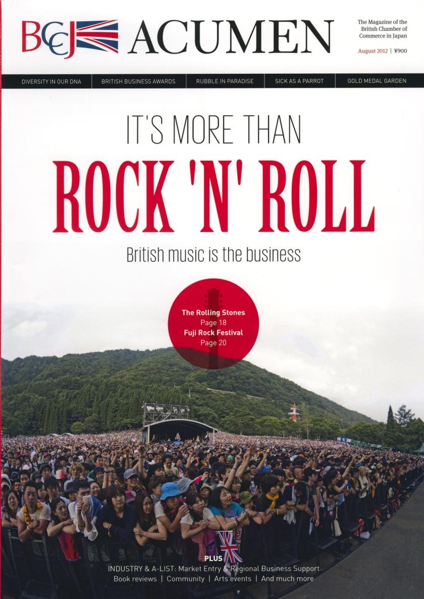 ACUMEN Tearsheet Fuji Rock 1