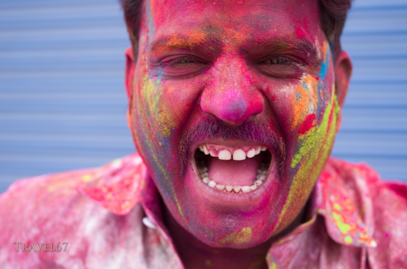 Holi, Festival of Colors, a Hindu Festival - Jaipur, Rajasthan, India