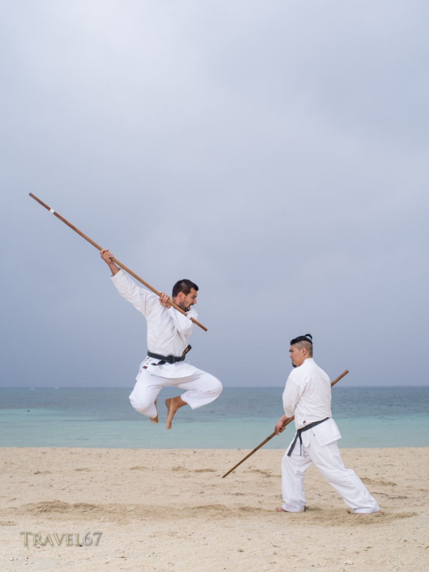 Kobudo on Toyosaki Beach, Okinawa