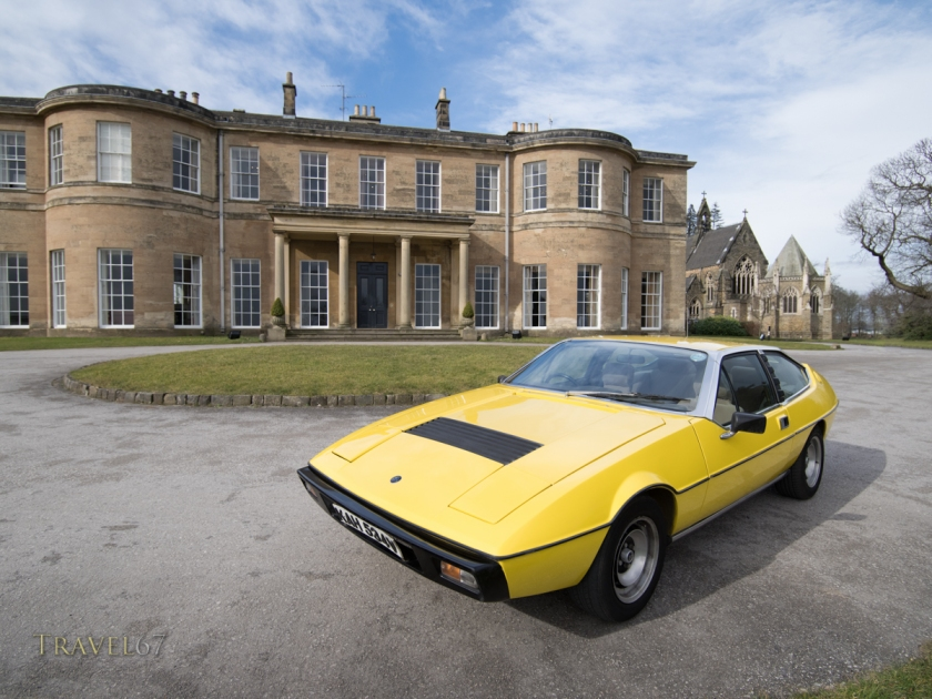 Lotus Eclat British sports car Rudding Park Hotel