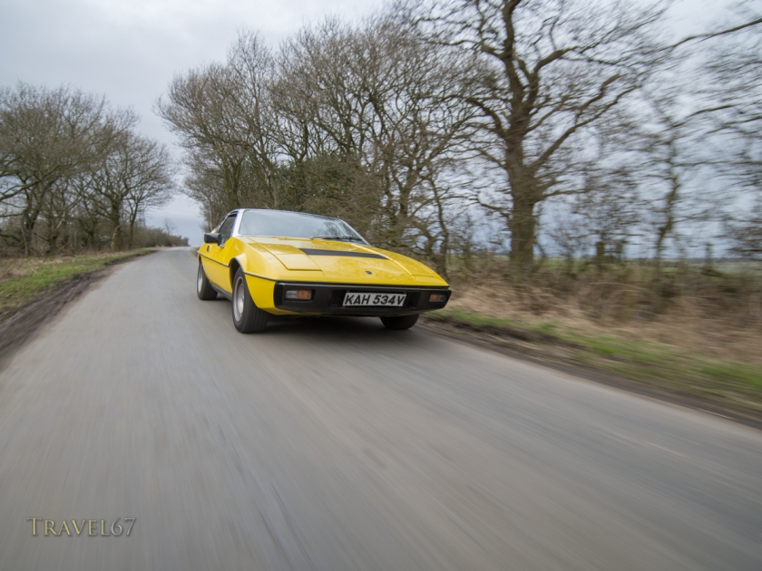 Lotus Eclat  in North Yorkshire, England.