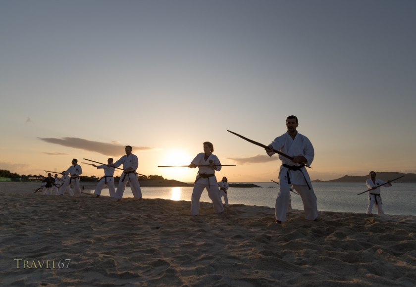 100 Kobudo Kata Event, Kira Kira Beach, Okinawa