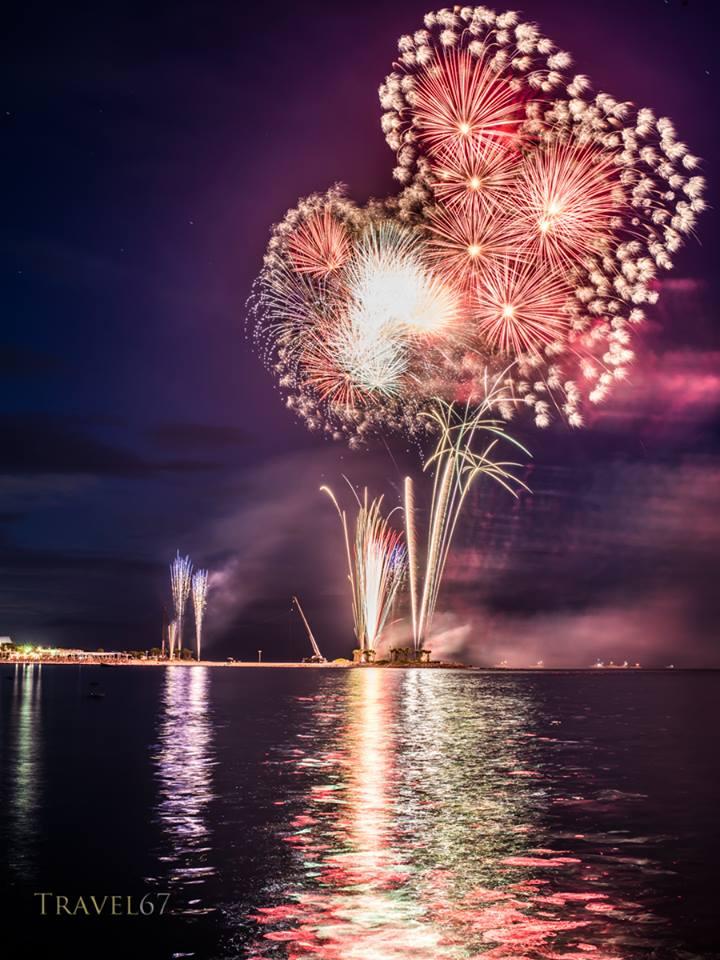 Expo Park fireworks festival, Okinawa
