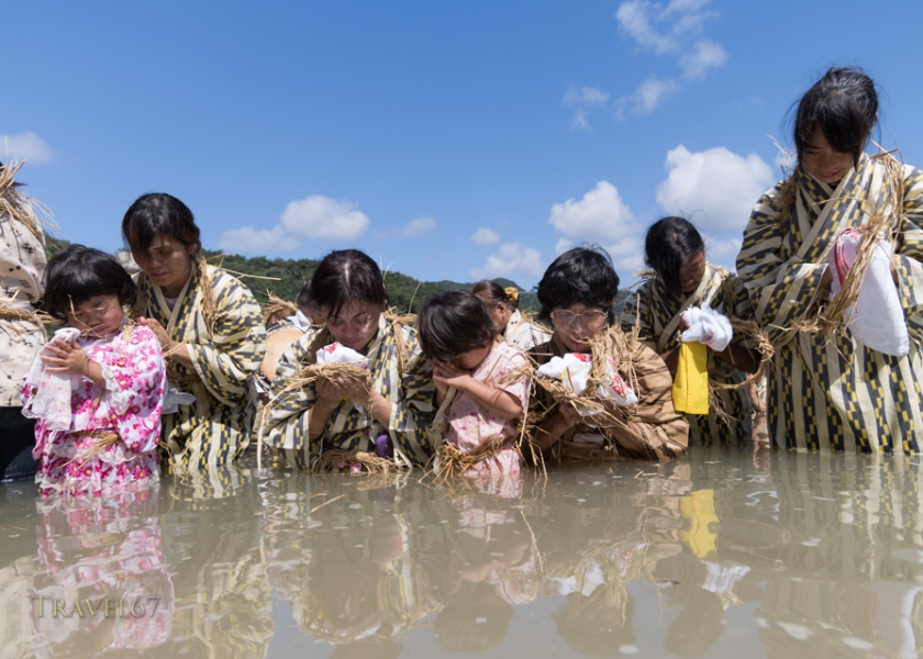 Shioya Ungami Sea Festival an Important Intangible Folk Cultural Properties of Japan, Shioya Bay, Ogimi Village, Okinawa