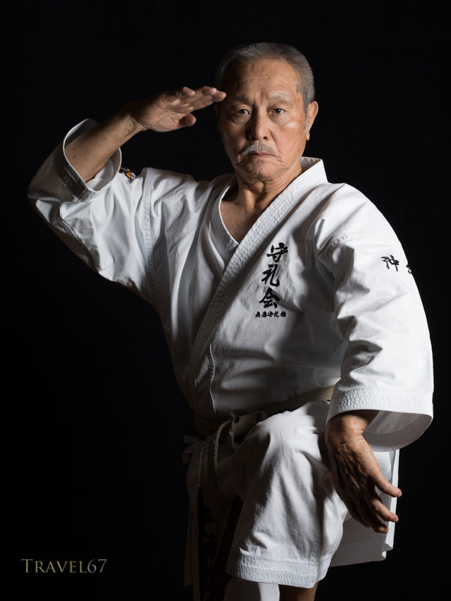 Tsuneo Shimabukuro  島袋 常雄 9th-dan Uechi-ryu Karate, 9th-dan Ryukyu Kobudo