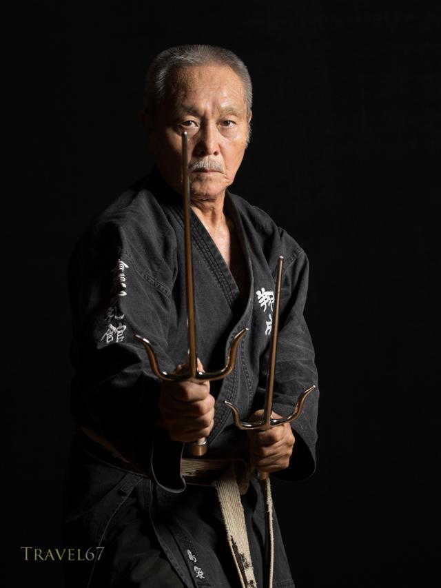 Tsuneo Shimabukuro  島袋 常雄 9th-dan Uechi-ryu Karate, 9th-dan Ryukyu Kobudo