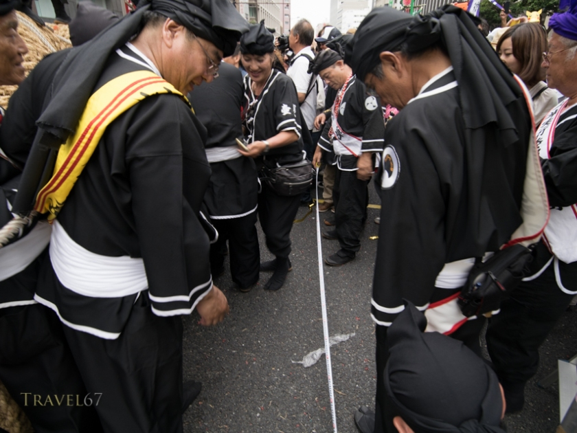 Naha Tug of War October 11th, 2015