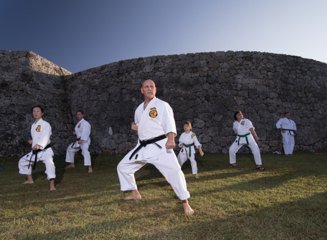 100 Kata for Karate Day at Zakimi Castle