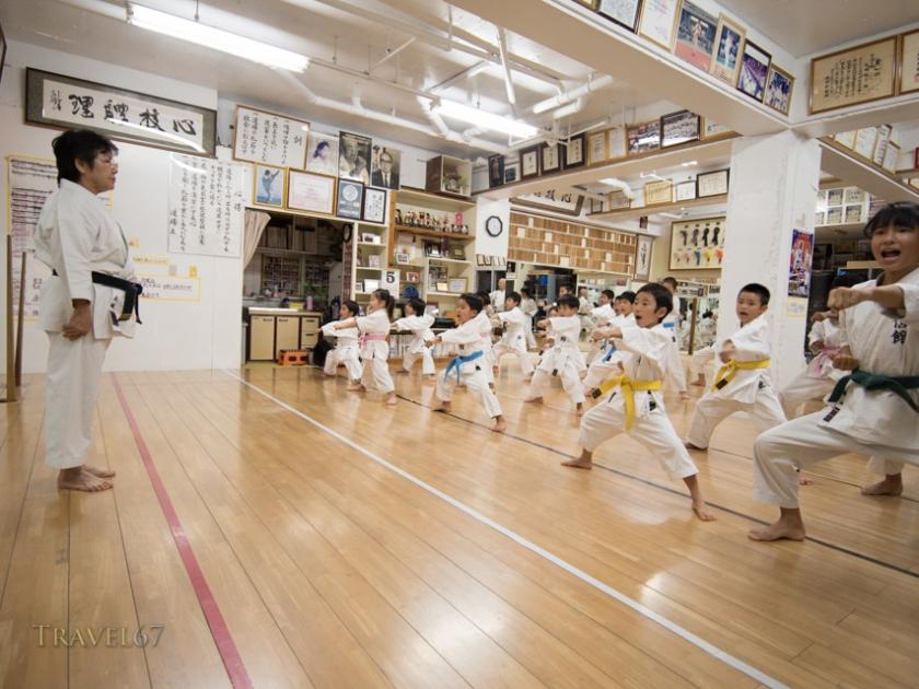 Nobuko Oshiro, Kyoshi, 8th dan Okinawa Karate-do Shorinryu, Taishinkan Association