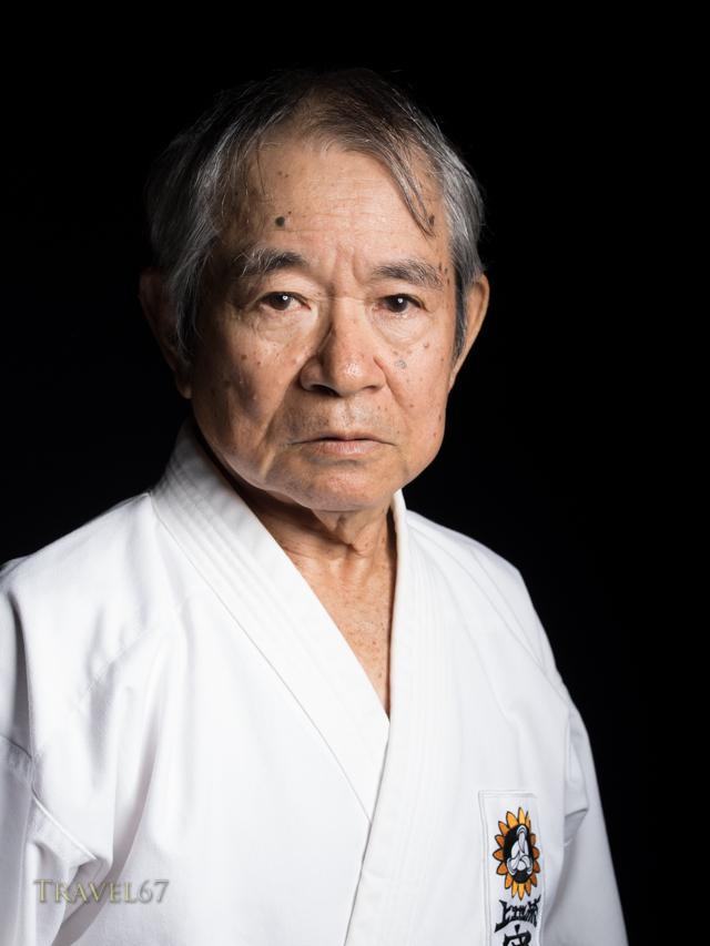 Teruya Masao 10th-dan Uechi-ryu Karate 10th-dan Ryukyu Kobudo