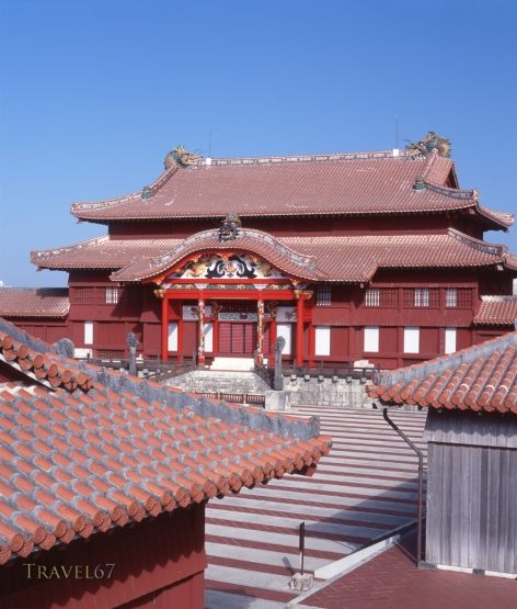 Shuri Castle, Okinawa, japan
