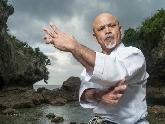 Narihiro Shinjo - Uechi Ryu Karate, Yomitan, Okinawa, Japan.