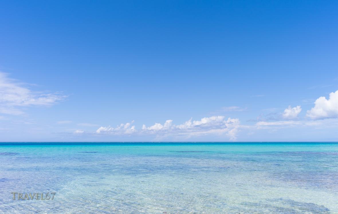 Ikema-Jima Beach and Ocean - Miyako Island, Okinawa, Japan