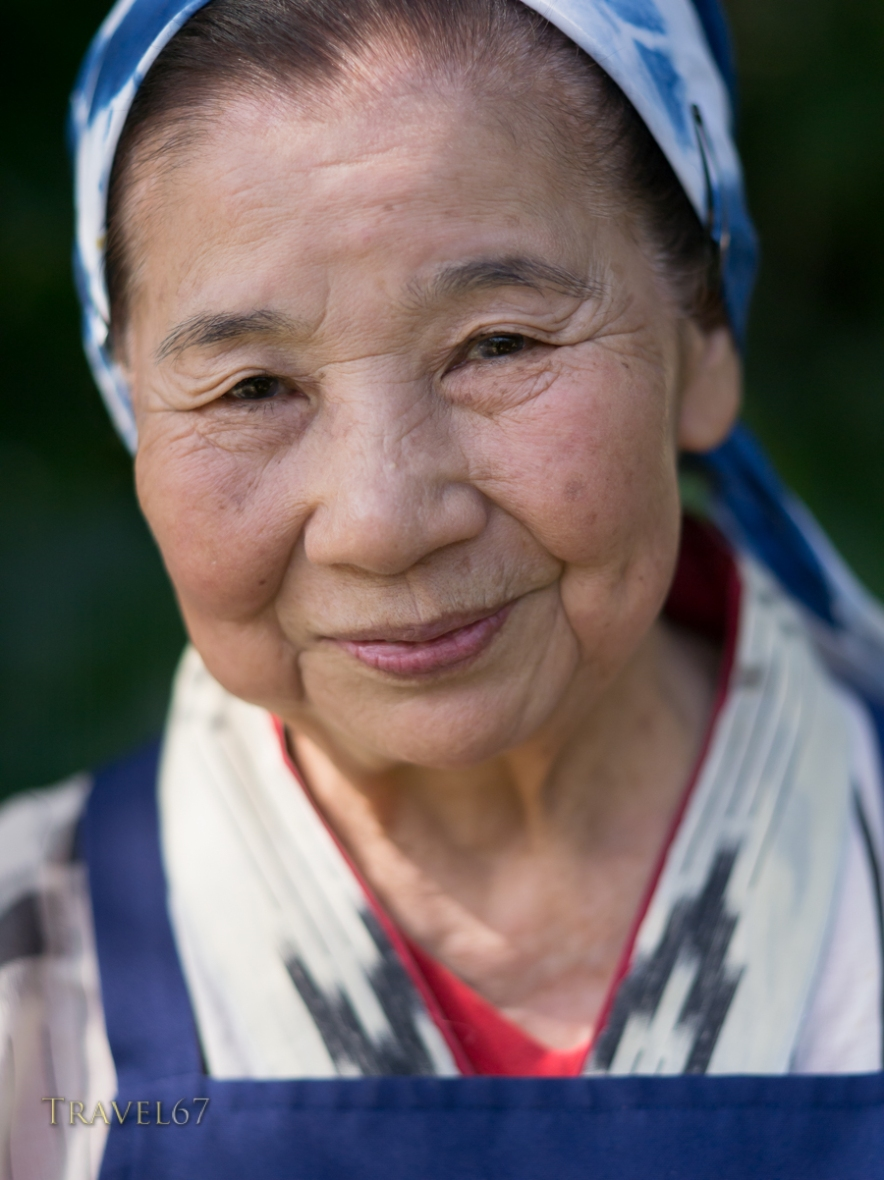 Elderly Okinawan Woman, Yomitan.