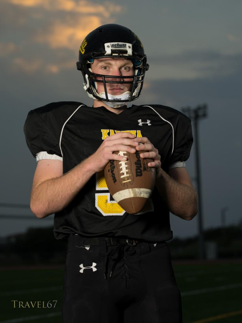 James Alexander Kadena High School American Football Player