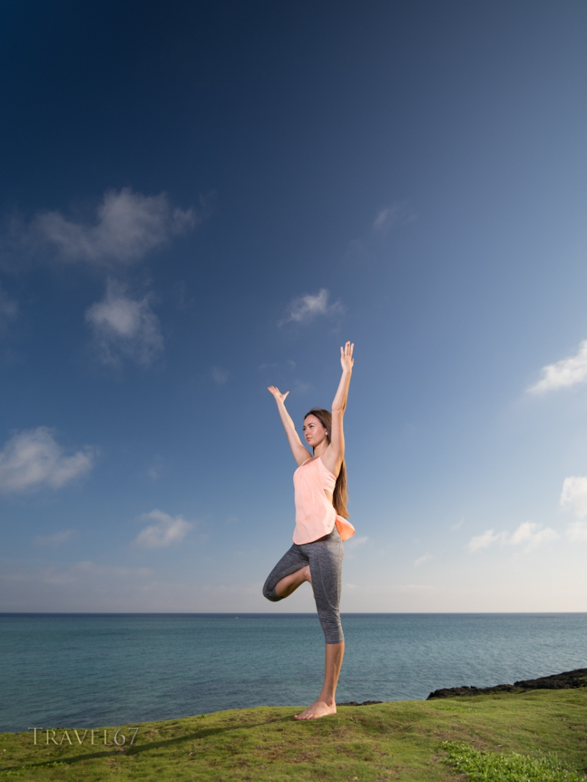 Hannah Hooper Yoga、Okinawa, Japan