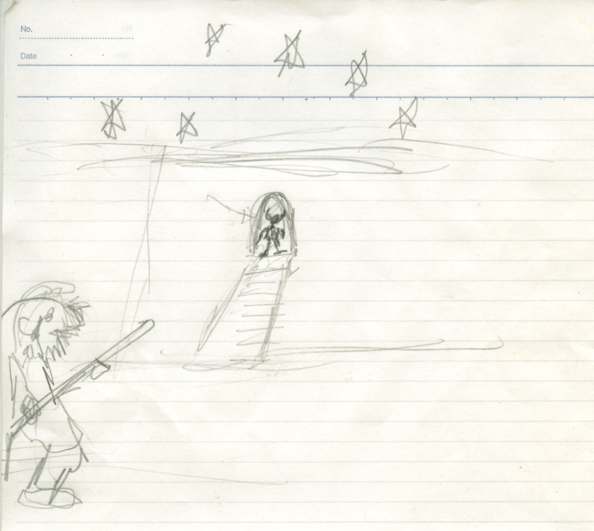 zakimi minotaur sketch