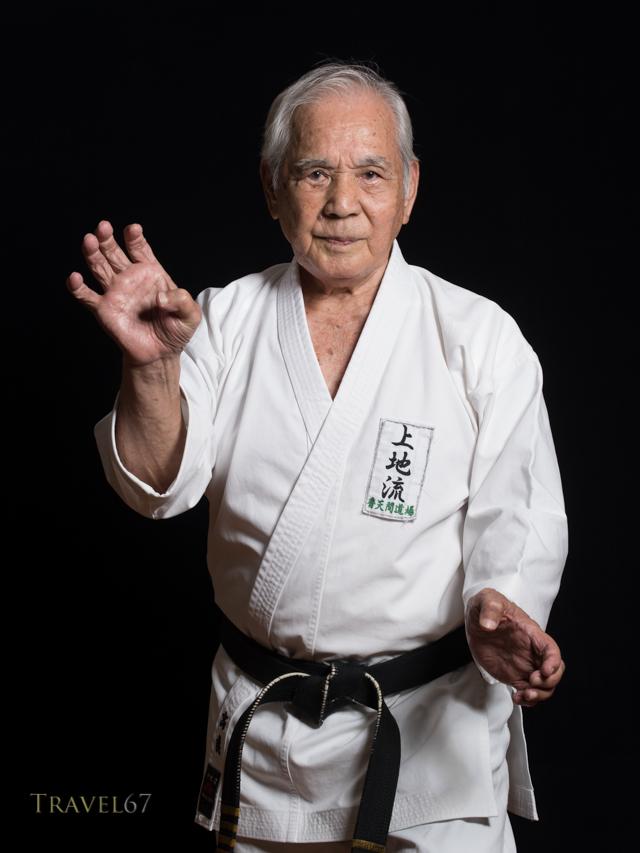 Shintoku Takara 10th dan Okinawa Uechi-ryu Karatedo Kyokai (D.0.B. 10/05/1930)