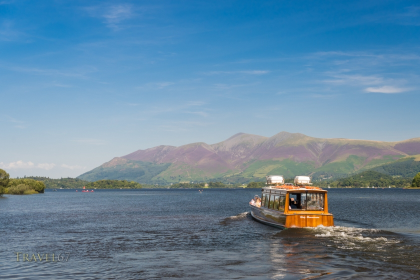 Lake Cruise on Derwent Water, The Lake District, Cumbria, UK