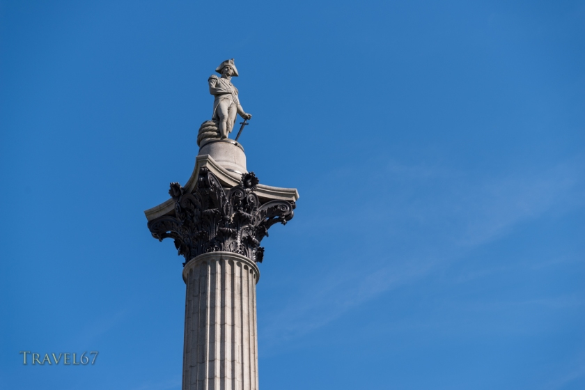 Statue of Horatio Nelson, 1st Viscount Nelson, Trafalgar Square, London