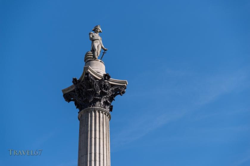 Statue of Horatio Nelson, 1st Viscount Nelson, Trafalgar Square, London