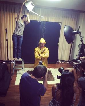 Studio Workshop BTS by Ashley Michaels