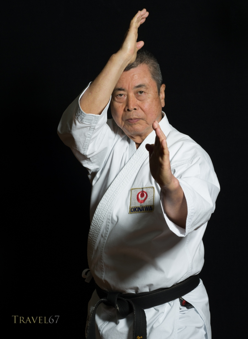 Karate Masters Portrait Project