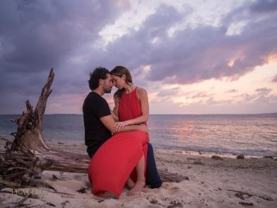 Beau and Lindsay Engagement Shoot. Motobu, Okinawa, Japan. Chris Willson Photography www.TRAVEL67.com