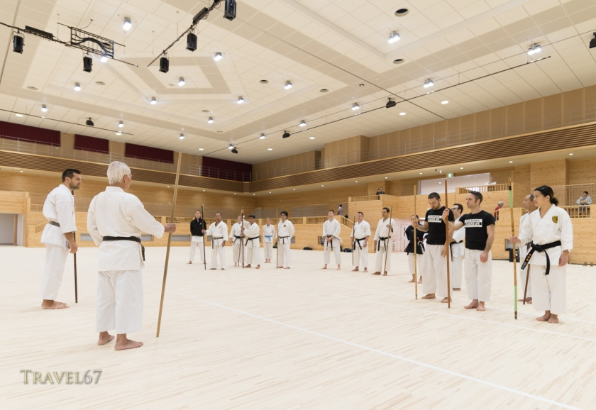 100 Kobudo Kata Event at Karate Kaikan, Okinawa, Japan