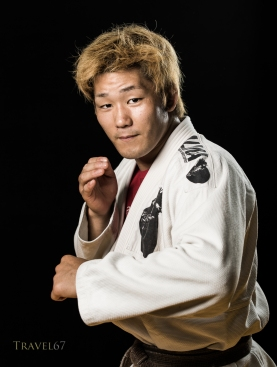 Kyosuke Yokoyama at Krazy Bee Gym, Itoman City, Okinawa, Japan