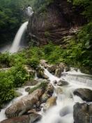 Todoroki Falls, ( Todoroki-no-taki) Nago, Okinawa, Japan